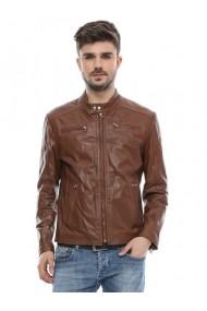 Jacheta din piele L.Y.N.N by Carla Ferreri SS19 LYNN CF O16 Maro