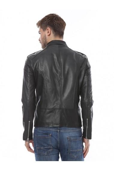 Jacheta din piele L.Y.N.N by Carla Ferreri SS19 LYNN CF 922 Negru