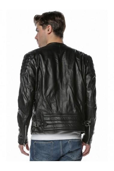 Jacheta din piele L.Y.N.N by Carla Ferreri SS19 LYNN CF 1825 Negru