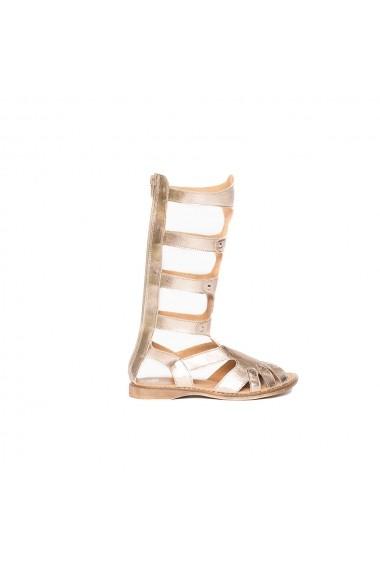 Cizme PJ Shoes gladiator bronz