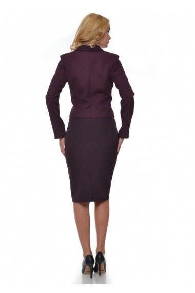 Costum dama AD-Fashion visiniu ADF-C015i0102