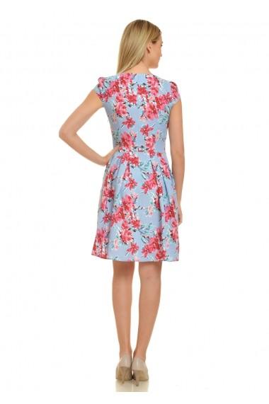 Rochie de zi AD-Fashion cu imprimeu floral ADF-R085i943