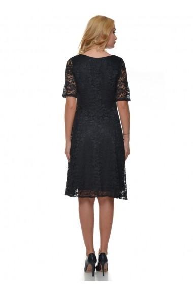 Rochie de seara AD-Fashion din dantela neagra ADF-R211306