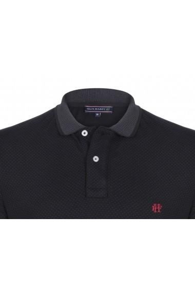 Tricou polo FELIX HARDY FE4919451 negru