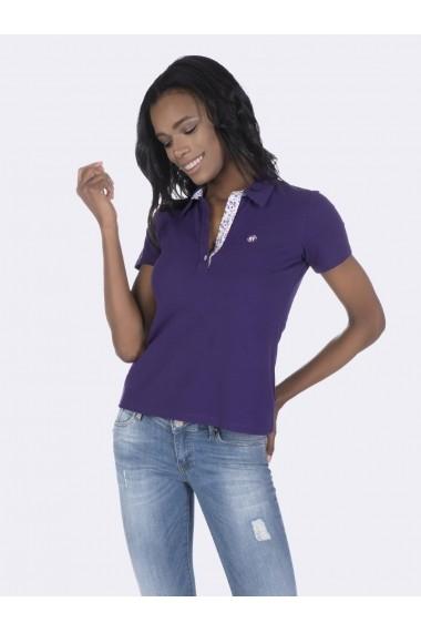 Tricou polo FELIX HARDY FE5826162 violet