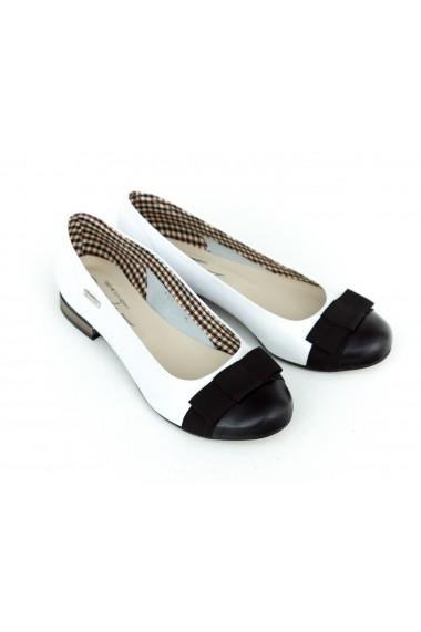 Pantofi ZAPATO 07 Alb