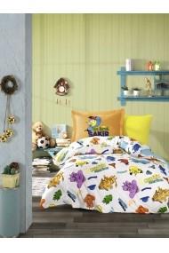 Set lenjerie de pat single Hobby 113HBY8146 multicolor