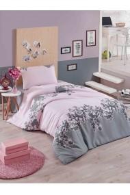 Set lenjerie de pat single Eponj Home 143EPJ1180 roz