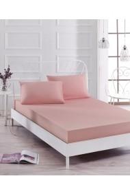 Set lenjerie de pat EnLora Home 162ELR0534 roz