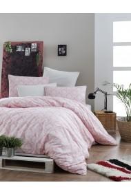 Set lenjerie de pat EnLora Home 162ELR1624 roz