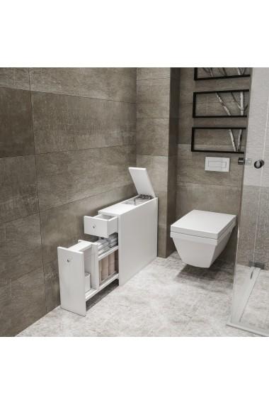 Dulapior baie Kalune Design 854KLN3901 Alb