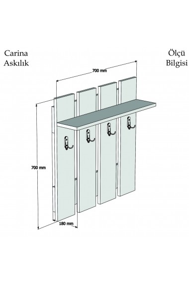 Cuier Puqa Design 835PUQ4001 Maro