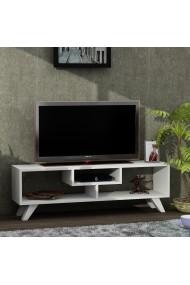 Comoda TV Wooden Art 731WAT3018 Alb