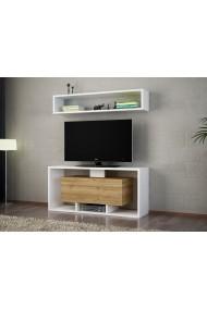 Set comoda TV si raft Woody Fashion 745DCD3040 Maro