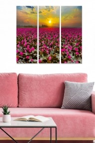 Tablou decorativ (set 3 piese) Bianca 553BNC3470 multicolor