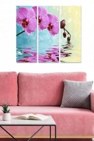Tablou decorativ (set 3 piese) Bianca 553BNC3704 multicolor