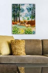 Tablou decorativ din panza Bract 529TCR1790 multicolor