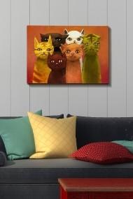 Tablou decorativ din panza Bract 529TCR1289 multicolor