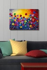 Tablou decorativ din panza Bract 529TCR1391 multicolor