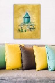 Tablou decorativ din panza Bract 529TCR1652 multicolor