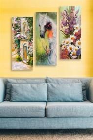 Tablou decorativ (set 3 piese) Marvellous 537MRV5111 multicolor