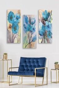 Tablou decorativ (set 3 piese) Marvellous 537MRV5120 multicolor