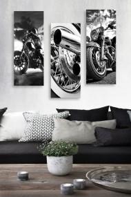 Tablou decorativ (set 3 piese) Marvellous 537MRV5153 multicolor