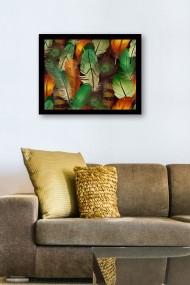 Tablou cu rama din lemn Marvellous 537MRV1874 multicolor