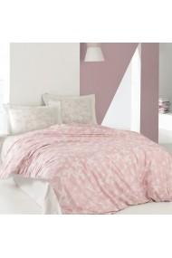 Set lenjerie de pat dublu Marie Claire 153MCL1257 roz