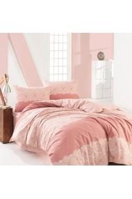 Set lenjerie de pat dublu Marie Claire 153MCL1258 roz