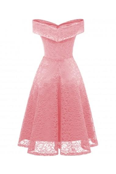Rochie Michel Laperle CD1610 roz