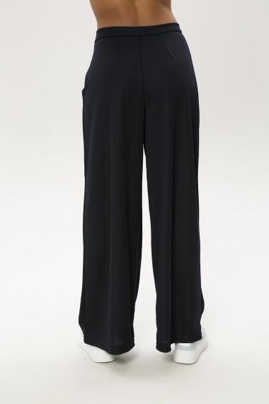 Pantaloni largi ME YOU 650-2228 004 Bleumarin