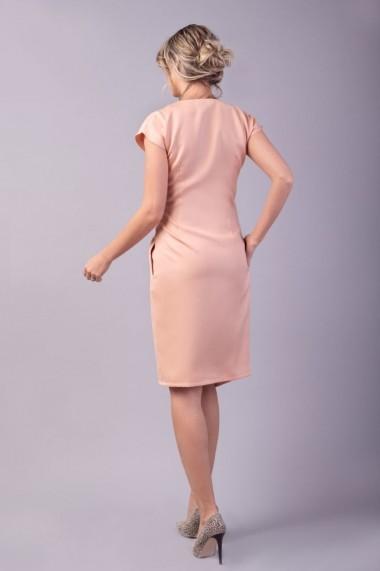 Rochie petrecuta Couture de Marie 0008036 din stofa roz Ava