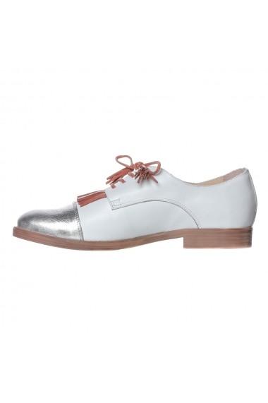Pantofi Gelenium Luisa Fiore LFD-GELENIUM-01 alb