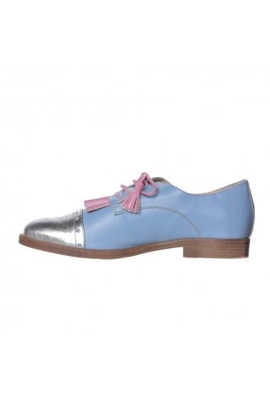 Pantofi Gelenium Luisa Fiore LFD-GELENIUM-05 albastru