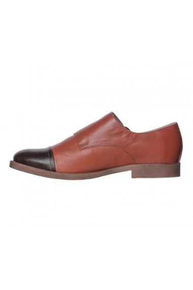 Pantofi Primula Luisa Fiore LFD-PRIMULA-01 maro