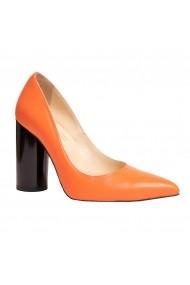 Pantofi piele Luisa Fiore LFD-ISA-02 portocaliu