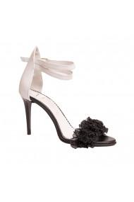 Sandale cu toc Luisa Fiore LFD-CRIN-01 Negru