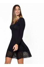 Rochie Bambina Mia KR3253-SIYAH negru