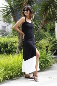 Rochie Bambina Mia KR2663-BEYAZ alb