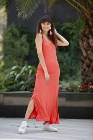 Rochie Bambina Mia KR2804-TURUNCU portocaliu
