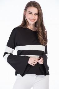 Bluza Bambina Mia KR2868-SIYAH negru