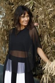 Bluza Bambina Mia KR2661-SIYAH negru