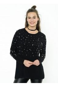 Bluza Bambina Mia KR2310-SIYAH negru