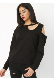 Bluza Bambina Mia KR0854-SIYAH negru