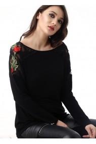 Bluza Bambina Mia KR1137-SIYAH negru