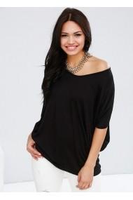 Bluza Bambina Mia KR1682-SIYAH negru