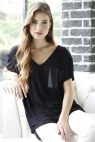 Bluza Bambina Mia KR1816-SIYAH negru