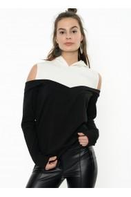 Hanorac Bambina Mia KR2305-SIYAH negru
