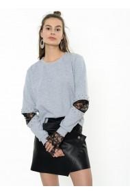 Hanorac Bambina Mia KR2315-GRI negru